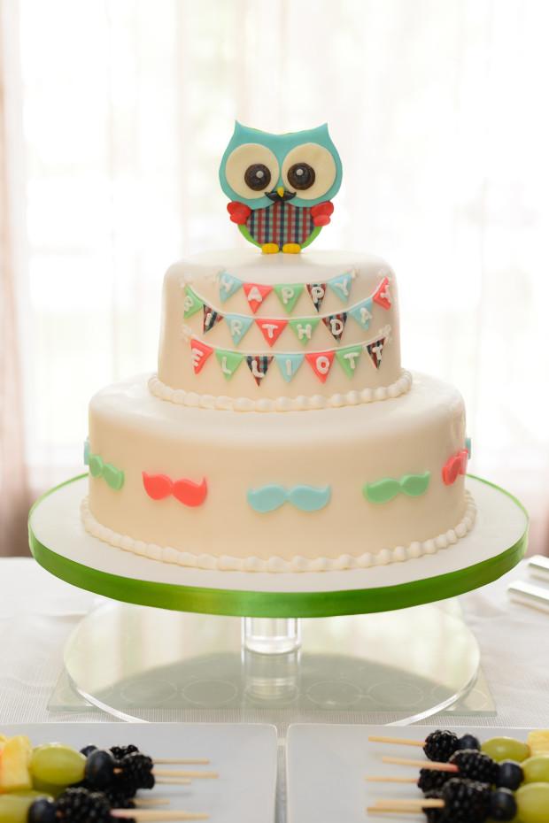Mister Owl Cake