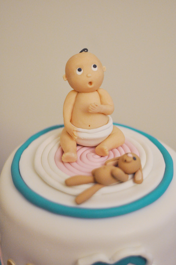 Baby Figurine Cake Topper