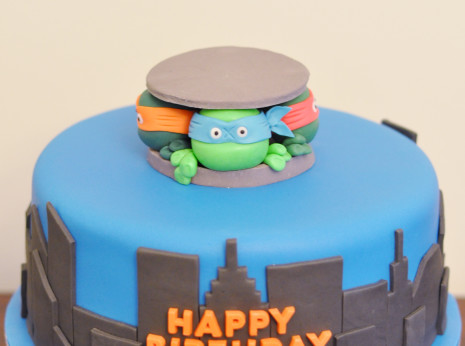 TMNT - Teenage Mutant Ninja Turtles Cake