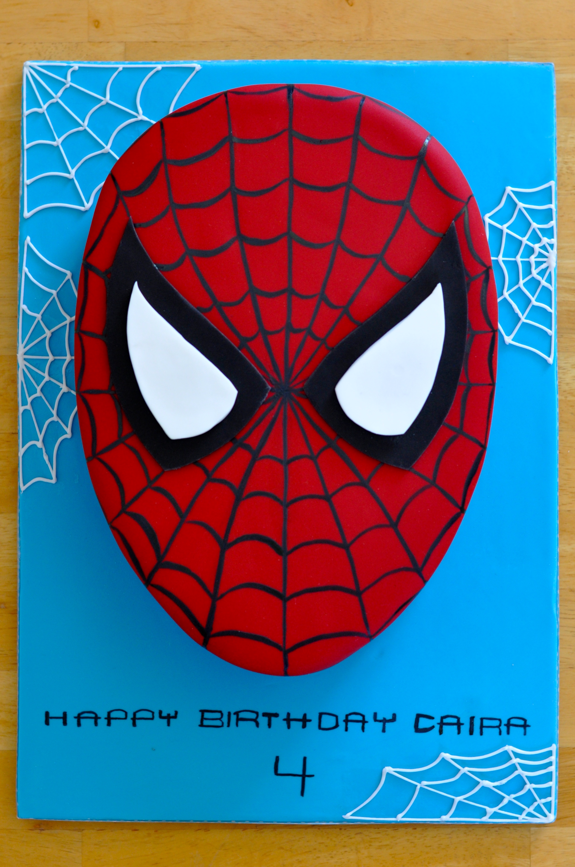 Yvonne Chan Cakes Spiderman