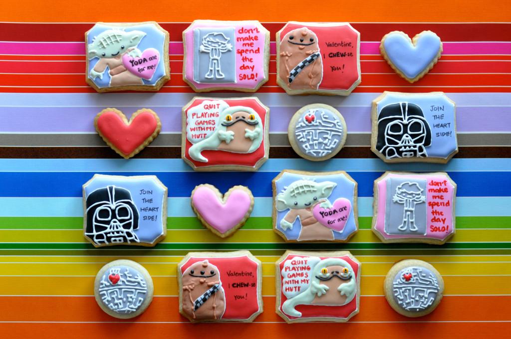 Vader Valentine Cookies
