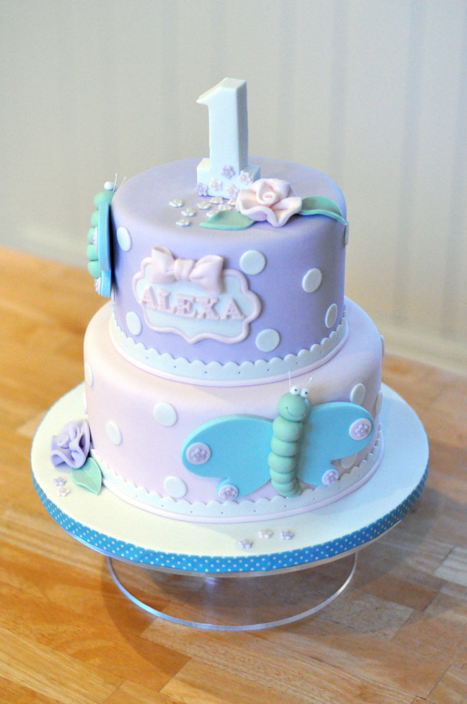 Yvonne Chan Cakes Butterfly Cake