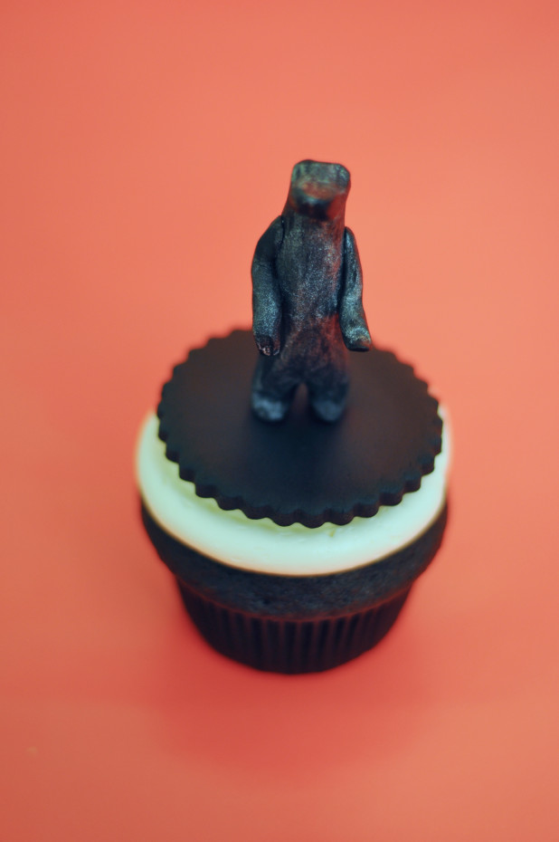 University of Guelph Begging Bear Cupcakes