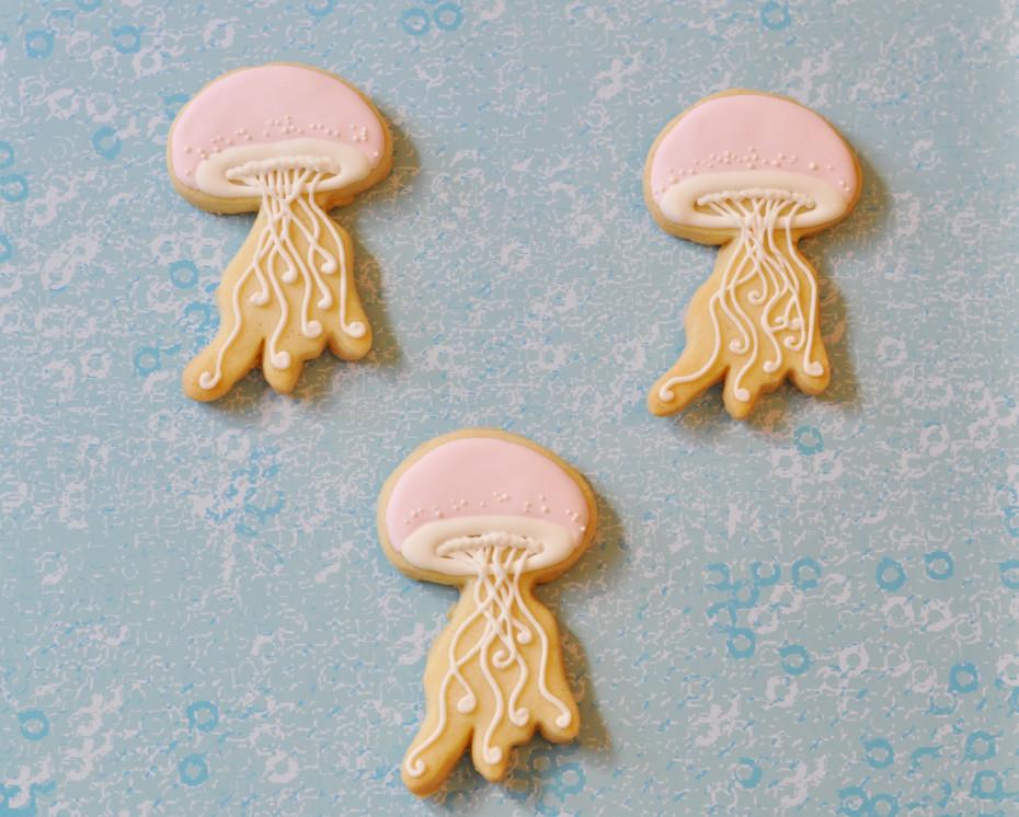 Jellyfish Cookies