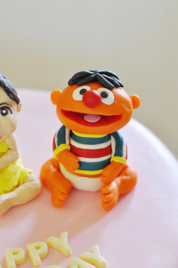Ernie Figurine Cake