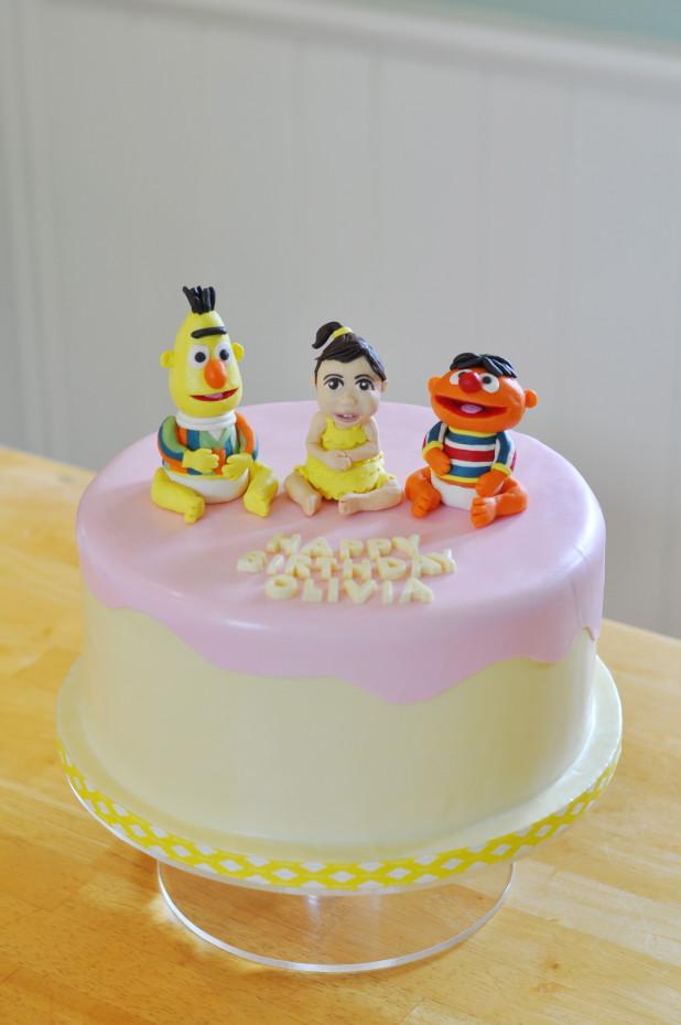 Bert & Ernie Cake