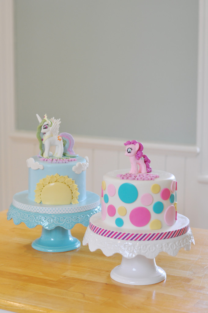 Yvonne Chan Cakes My Little Pony Princess Celestia and Pinkie Pie