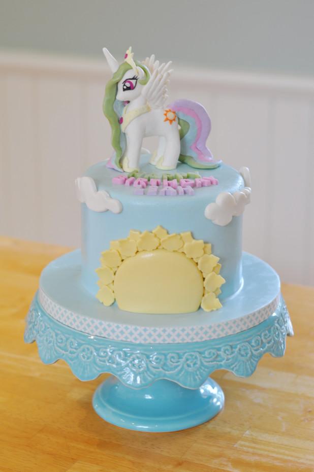 Princess Celestia Cake