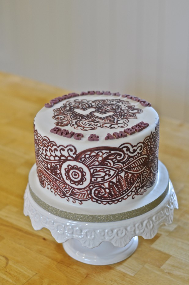 Cake For Mehndi Ceremony : Yvonne chan cakes henna mehndi