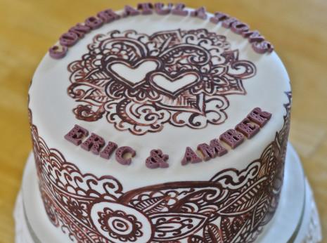 Henna Mehndi Cake Thumbnail