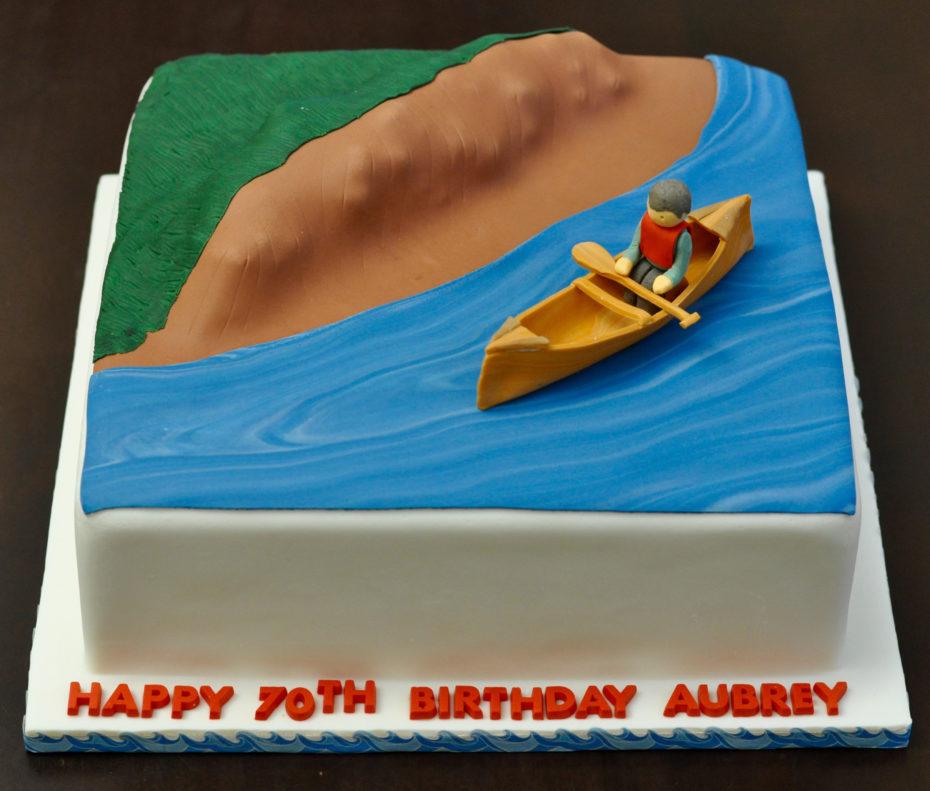 Canoe Cake