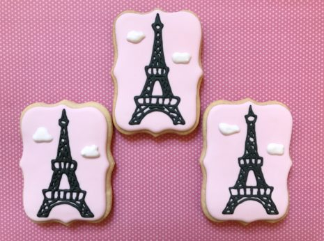 Eiffel Tower Cookies